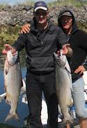 Peter Kingma testimonial vancouver island fishing charter